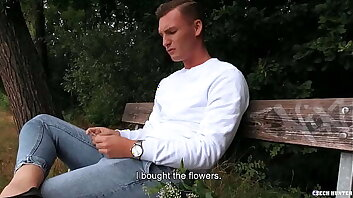 A Comfortable Fuck Spot In The Forest For A Straight Dude To Try Anal Sex - Czech Hunter 547