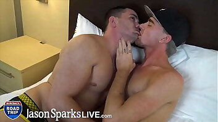 JasonSparksLive - muscle jock raw fucks country dear boy with huge cumshots